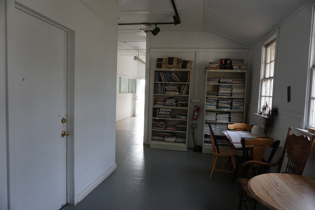 Interior building F, hallway